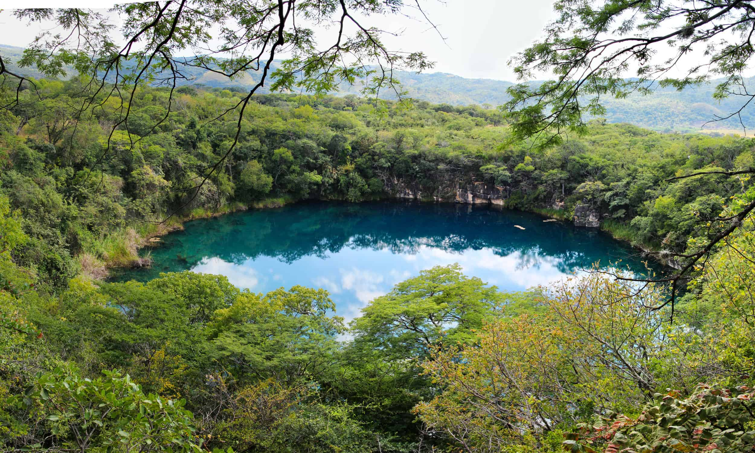 Cenote de Candelaria 1 - Panorama