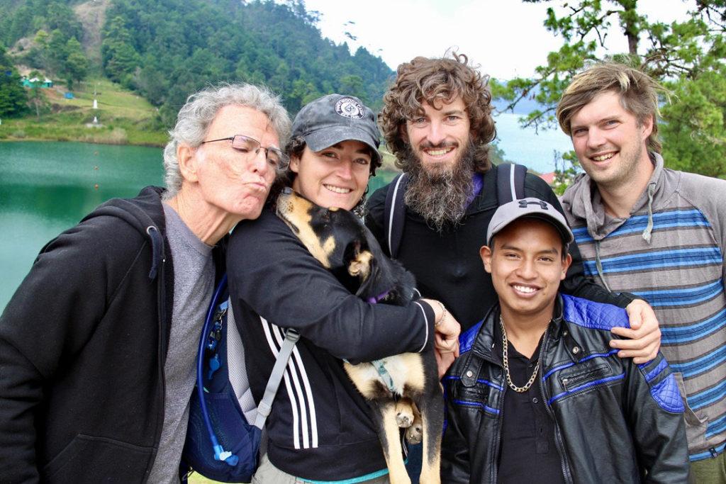 laguna internacional, Guatemala with family and friends